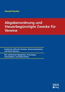 Abbildung von Dauber | Abgabenordnung und Steuerbegünstigte Zwecke für Vereine | 1. Auflage | 2020 | beck-shop.de
