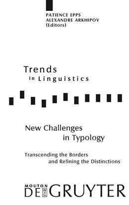 Abbildung von Epps / Arkhipov   New Challenges in Typology   2009