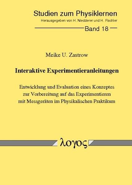Abbildung von Zastrow | Interaktive Experimentieranleitungen | 2001