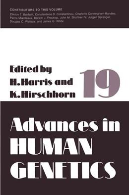 Abbildung von Harris / Hirschhorn | Advances in Human Genetics | 1990