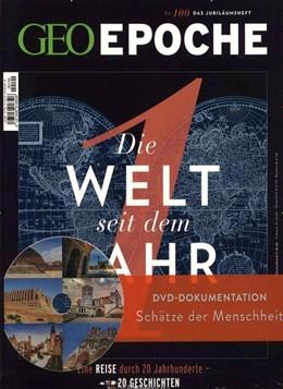 Abbildung von Schaper   GEO Epoche mit DVD 100/2019 - Die Welt seit dem Jahr 1   Auflage   2020   mit DVD