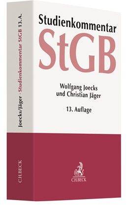 Abbildung von Joecks / Jäger | Strafgesetzbuch: StGB | 13. Auflage | 2021 | beck-shop.de