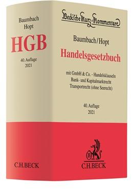Abbildung von Baumbach / Hopt | Handelsgesetzbuch: HGB | 40. Auflage | 2021 | Band 9 | beck-shop.de