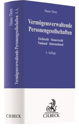 Abbildung von Haase / Dorn   Vermögensverwaltende Personengesellschaften   4. Auflage   2020   beck-shop.de