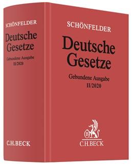 Abbildung von Schönfelder | Deutsche Gesetze Gebundene Ausgabe II/2020 | 1. Auflage | 2020 | beck-shop.de