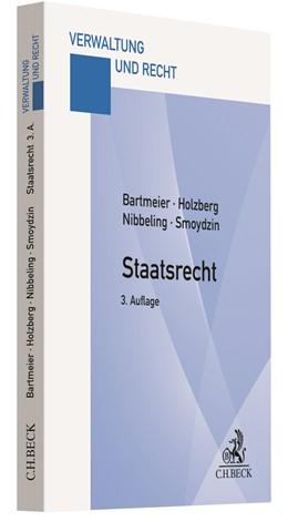 Abbildung von Bartmeier / Holzberg   Staatsrecht   3. Auflage   2020   beck-shop.de
