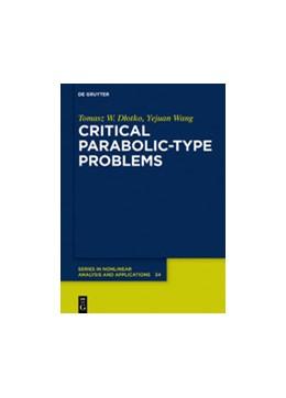 Abbildung von Dlotko / Wang | Critical Parabolic-Type Problems | 1. Auflage | 2020 | beck-shop.de