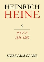 Abbildung von Mende | Prosa 1836-1840 | 1979