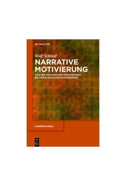 Abbildung von Schmid | Narrative Motivierung | 2020 | Von der romanischen Renaissanc...