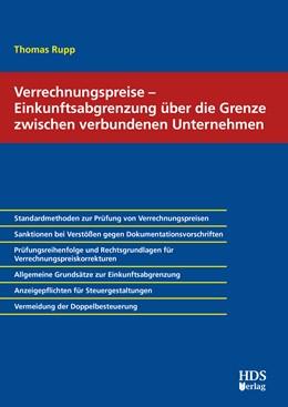 Abbildung von Rupp | Verrechnungspreise – Einkunftsabgrenzung über die Grenze zwischen verbundenen Unternehmen | 1. Auflage | 2020 | beck-shop.de