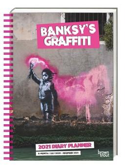 Abbildung von Banksy 2021 - Taschenkalender | 1. Auflage | 2020 | beck-shop.de