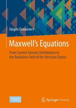 Abbildung von Donnevert | Maxwell´s Equations | 1st ed. 2020 | 2020 | From Current Density Distribut...