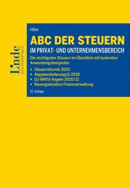 Abbildung von Hilber   ABC der Steuern im Privat- und Unternehmensbereich   10. Auflage   2020   beck-shop.de