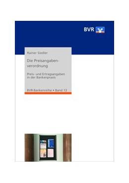 Abbildung von Siedler | Die Preisangabenverordnung | 3. Auflage | 2020 | 13 | beck-shop.de