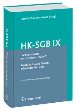 Abbildung von Handkommentar zum Sozialgesetzbuch IX (HK-SGB IX) | 2009 | Rehabilitation und Teilhabe be...