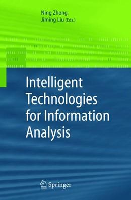 Abbildung von Zhong / Liu | Intelligent Technologies for Information Analysis | 2004