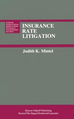Abbildung von Mintel | Insurance Rate Litigation | 1983