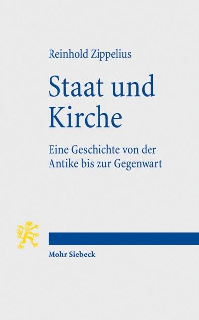 Abbildung von Zippelius | Staat und Kirche | 2., neu bearbeitete Auflage | 2009