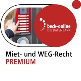 Abbildung von beck-online. Miet- und WEG-Recht PREMIUM | 1. Auflage | | beck-shop.de
