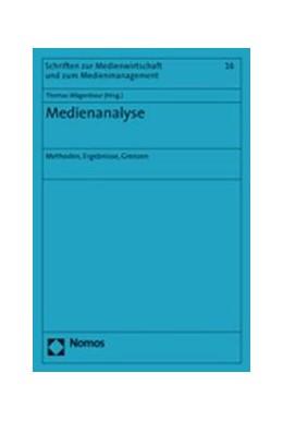 Abbildung von Wägenbaur   Medienanalyse   2007   Methoden, Ergebnisse, Grenzen