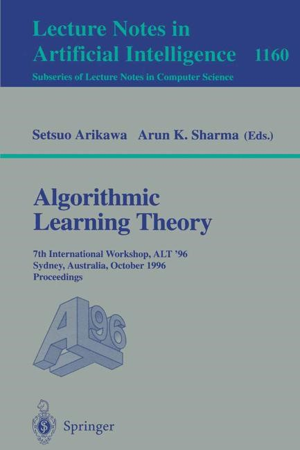 Abbildung von Arikawa / Sharma | Algorithmic Learning Theory | 1996