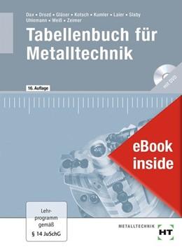 Abbildung von Dax / Drozd | eBook inside: Buch und eBook Tabellenbuch für Metalltechnik | 16. Auflage | 2020 | beck-shop.de