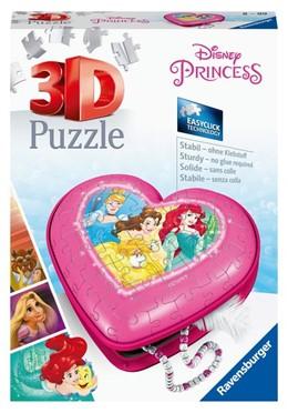 Abbildung von Herzschatulle - Disney Princess. 3D Puzzle 54 Teile | 1. Auflage | 2020 | beck-shop.de