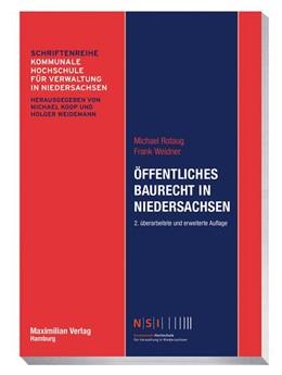 Abbildung von Rotaug / Weidner | Öffentliches Baurecht in Niedersachsen | 2. Auflage | 2020 | beck-shop.de