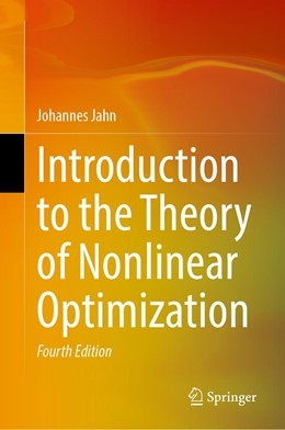 Abbildung von Jahn   Introduction to the Theory of Nonlinear Optimization   4th ed. 2020   2020