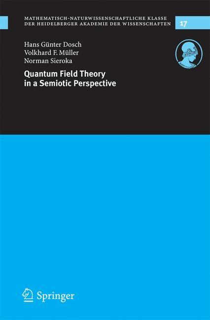 Abbildung von Dosch / Müller / Sieroka | Quantum Field Theory in a Semiotic Perspective | 2005
