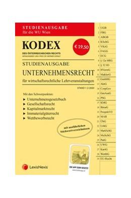 Abbildung von Doralt | KODEX Unternehmensrecht für wirtschaftsrechtliche LVA | 1. Auflage | 2020 | Studienausgabe