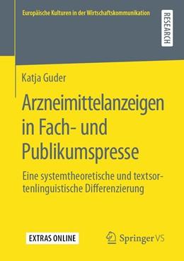 Abbildung von Guder | Arzneimittelanzeigen in Fach- und Publikumspresse  | 1. Auflage | 2020 | beck-shop.de