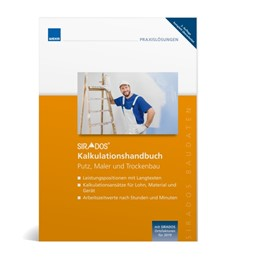 Abbildung von SIRADOS Kalkulationshandbuch Putz, Maler und Trockenbau | 1. Auflage | 2020 | beck-shop.de
