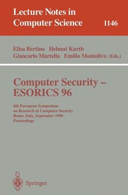 Abbildung von Bertino / Kurth / Martella / Montolivo | Computer Security - ESORICS 96 | 1996
