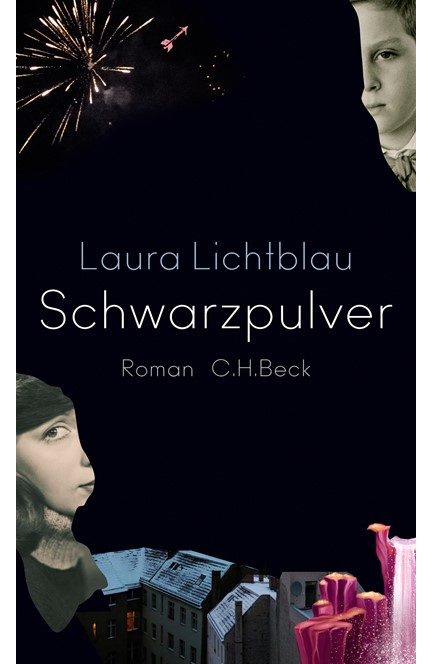 Cover: Laura Lichtblau, Schwarzpulver
