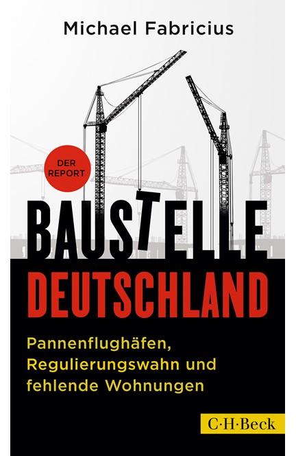 Cover: Michael Fabricius, Baustelle Deutschland