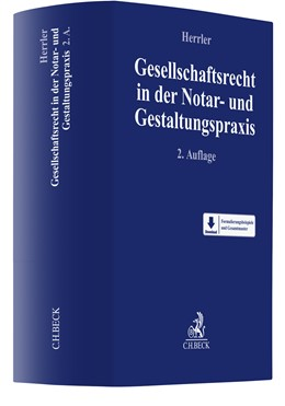 Abbildung von Herrler | Gesellschaftsrecht in der Notar- und Gestaltungspraxis | 2. Auflage | 2021 | beck-shop.de