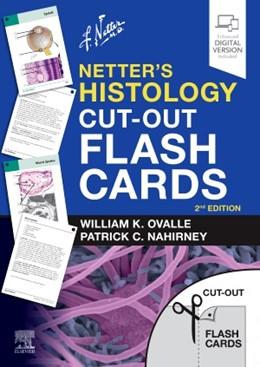 Abbildung von Ovalle / Nahirney | Netter's Histology Cut-Out Flash Cards | 2. Auflage | 2020 | beck-shop.de