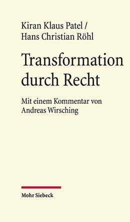 Abbildung von Patel / Röhl   Transformation durch Recht   1. Auflage   2020   beck-shop.de