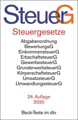Abbildung von Steuergesetze: SteuerG | 24. Auflage | 2020 | 5765 | beck-shop.de