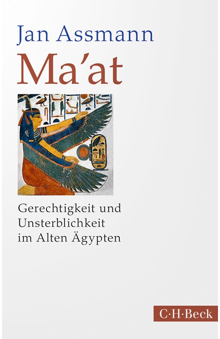 Cover: Jan Assmann, Ma'at