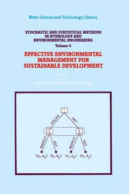 Abbildung von Hipel / Liping Fang | Stochastic and Statistical Methods in Hydrology and Environmental Engineering | 1994 | Volume 4: Effective Environmen... | 10/2