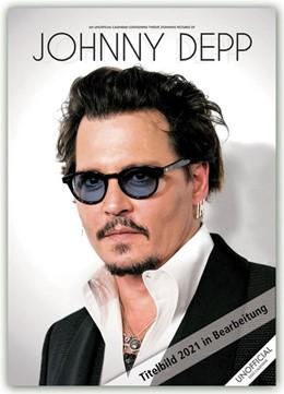 Abbildung von Johnny Depp 2021 - A3 Format Posterkalender   2020   Original RedStar - Carousel Ka...