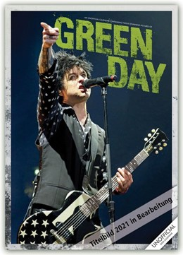 Abbildung von Green Day 2021 - A3 Format Posterkalender | 2020 | Original RedStar - Carousel Ka...