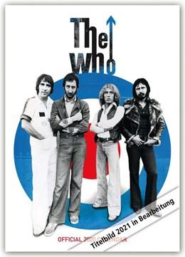 Abbildung von The Who 2021 - A3 Format Posterkalender | 2020 | Original Danilo-Kalender [Mehr...