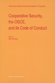 Abbildung von Nooy | Cooperative Security, the OSCE, and its Code of Conduct | 1996