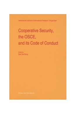 Abbildung von Nooy | Cooperative Security, the OSCE, and its Code of Conduct | 1996 | 24