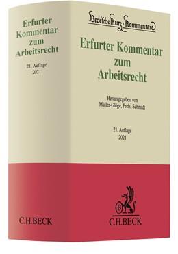 Abbildung von Erfurter Kommentar zum Arbeitsrecht | 21. Auflage | 2021 | Band 51 | beck-shop.de
