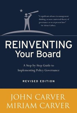 Abbildung von Carver   Reinventing Your Board   2006   Revised Edition
