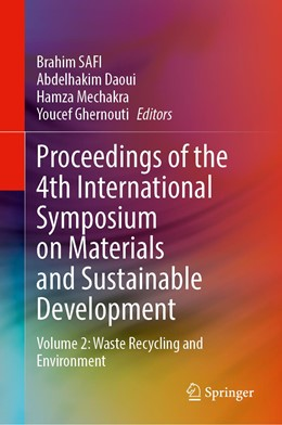 Abbildung von Safi / Daoui | Proceedings of the 4th International Symposium on Materials and Sustainable Development | 1. Auflage | 2020 | beck-shop.de